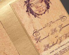 Convites para casamentos em cortiça. #casamento #convites #cortiça