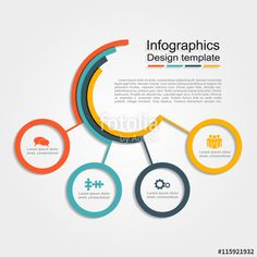 Vettoriale: Infographic design template. Vector illustration.
