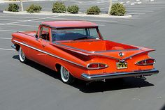 1959 Chevy El Camino Maintenance of old vehicles: the material for new cogs/casters/gears could be cast polyamide which I (Cast polyamide) can produce
