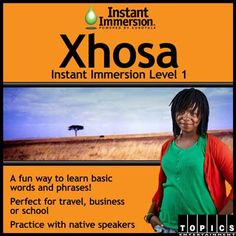 Level 1 Xhosa - Xhosa Program - Best Way To Learn Xhosa First Language, Learn A New Language, Teaching Reading, Teaching Tools, Discovery 2, Xhosa, Toddler Learning, My Passion, Vocabulary