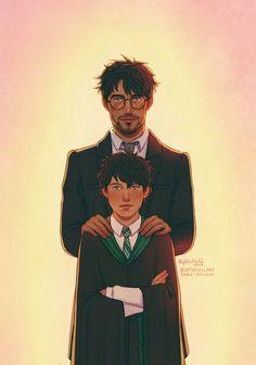 #19YearsLater Harry y Albus