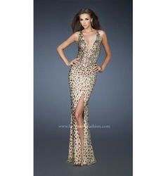 $798.00 LaFemme Prom Dress at http://viktoriasdresses.com/ Through John's Tailors