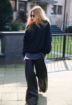 Love the oversize look. 67902 | Maja Wyh