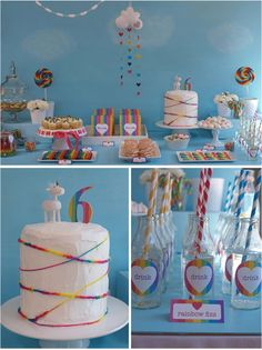 Rainbow Party Theme,  Go To www.likegossip.com to get more Gossip News!