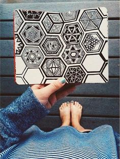 Absolutely Beautiful Zentangle patterns For Many Use (16)                                                                                                                                                                                 More