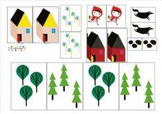 Le petit chaperon rouge : remettre les éléments de l'histoire dans l'ordre – MC en maternelle