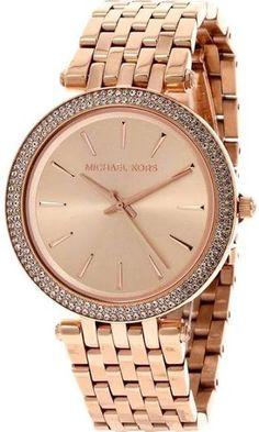 9052568fd8e9 Michael Kors MK3192 Parker Women s RoseGold Glitz Watch Rose Gold Watches