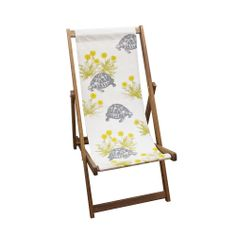 Tortoise & Dandelion Deckchair from Thornback & Peel
