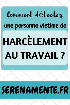Découvrez vite comment détecter une personne victime de harcèlement au travail ! #harcelement #harassment #work #nonauharcelement #stopauharcelement