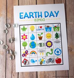 Earth Celebrate Earth Day on April by playing Free Printable Earth Day Bingo! - Celebrate Earth Day on April by playing Free Printable Earth Day Bingo! Earth Day Games, Earth Day Activities, Spring Activities, Science Activities, Classroom Activities, Recycling Activities For Kids, Kids Crafts, Classroom Ideas, Earth Craft
