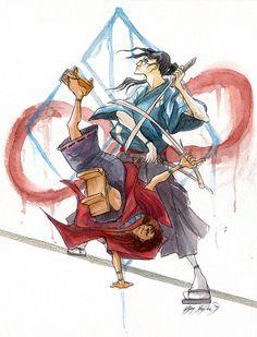 Samurai Champloo by firecloud