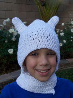 Finn Crochet Hat comment:) #adventuretime