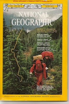 National Geographic Magazine subscription in english http://www.nationalgeographic.com/magazines/