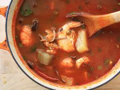 Spicy Korean Seafood Soup