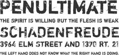 Shortcut by Misprinted Type #font #free