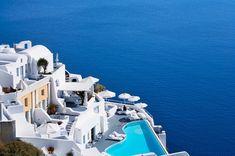 Hotel in Oia Santorini, Greece