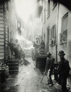 Bandit's Roost: la calle más peligrosa de Nueva York, Estados Unidos. 1888