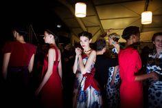 Behind the Scenes: Carolina Herrera Fall 2013