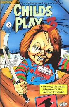 Child's Play 3 Comic issue 2 (innovation)