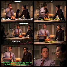 Love Mozzie and Elizabeth's friendship. White Collar Neal, White Collar Quotes, Matt Bomer White Collar, Tv Quotes, Movie Quotes, Movies Showing, Movies And Tv Shows, Mystery Show, Tv Funny