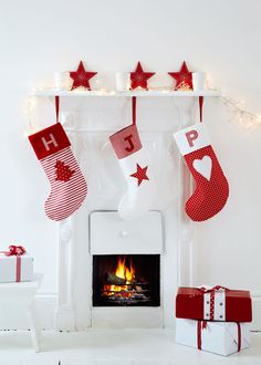 How to sew personalised Christmas stockings with appliqué initials  prima.co.uk