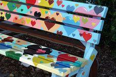 The Neighborhood Park Bench Project | Jen Hewett, illustrator, print maker, textile designer.