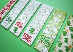 Sant Jordi bookmarks