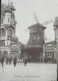 Moulin Rouge Vintage #moulin #rouge #paris #midnight #cabaret #cityvision