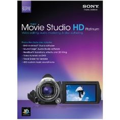 Sony Vegas Movie Studio HD Platinum 11 Production Suite, (movie making)