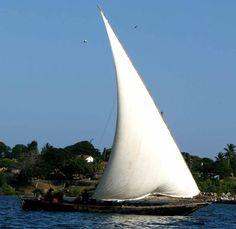 Dhow off coast Kenya