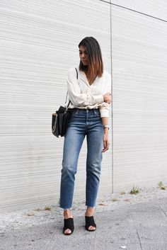 theadorabletwo_mercdes_benz_fashion_week_berlin_streetsyle_levis_jeans_wedgie_mules_schwarz