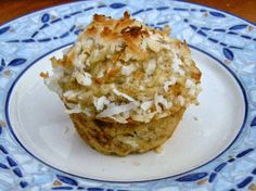 Jolene's Recipe Journal: Banana, Coconut, and Pineapple Muffins*