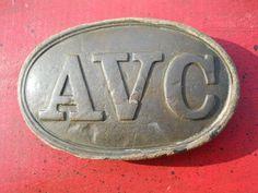 Old RARE Vintage Antique Civil War Relic Alabama Volunteer Corps AVC Appomattox   eBay