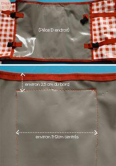 DIY Couture : sacoches de vélo