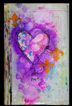 #papercrafting #artjournaling: by Dina Wakley
