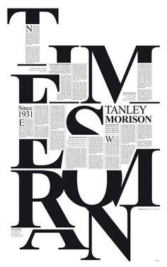 Times new roman editorial