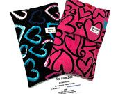 Flax Heating pads - BOOBOO BAGS - stocking stuffer - Baby shower gift, Hand Warmer,Hot - Cold Pack-Removable - Washable - Microwavable