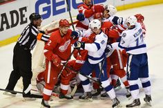 Red Wings Grinder: ECQF Game #4 - Red Wings vs. Lightning 2:3 (OT) - ...