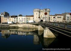 Verdun City Center in Lorraine in France