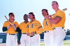 1989 All Stars - Oakland Athletics