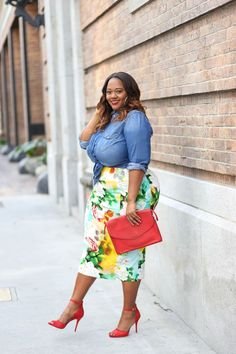 Stylish Plus-Size Fashion Ideas – Designer Fashion Tips Plus Size Summer Fashion, Plus Size Summer Outfit, Plus Size Fashion For Women, Plus Size Womens Clothing, Plus Size Outfits, Clothes For Women, Size Clothing, Clothing Stores, Curvy Girl Fashion