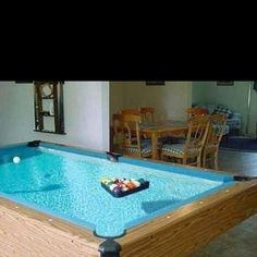 Pool tables on pinterest pool tables pools and outdoor for Freaky bedroom ideas
