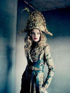 Natalia Vodianova for Vogue Russia by Paolo Roversi