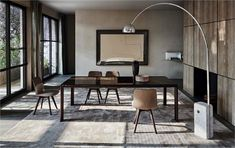 molteni&c· home.6 | | · 2-Belgravia  Table   Barbican  Chairs Rodolfo Dordoni Palette  Carpet Nicola Gallizia