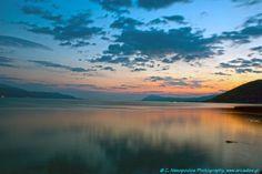 Sunset in Corithiakos.