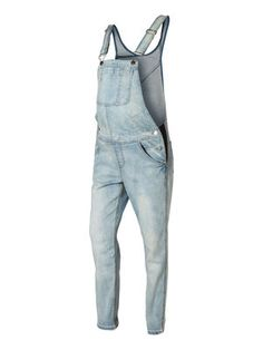 Overalls from MAMALICIOUS. #mamalicious #jeans #overalls #maternity #denim #fashion