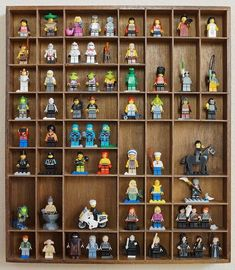 5 DIY Ideas for Lego Minifigure Storage | Apartment Therapy -- could be interesting as part of a gallery wall.