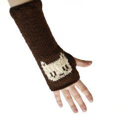 Chocolate Kitty Arm Warmers: http://www.shanalogic.com/i-love-her/chocolate-kitty-armwarmers.html
