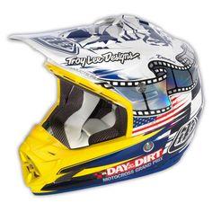 Troy Lee Designs SE3 Helmet DITD/McQueen White