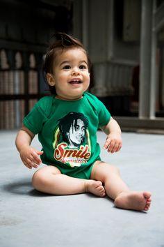 Body bebè Bob Marley Baby Smile Jamaica